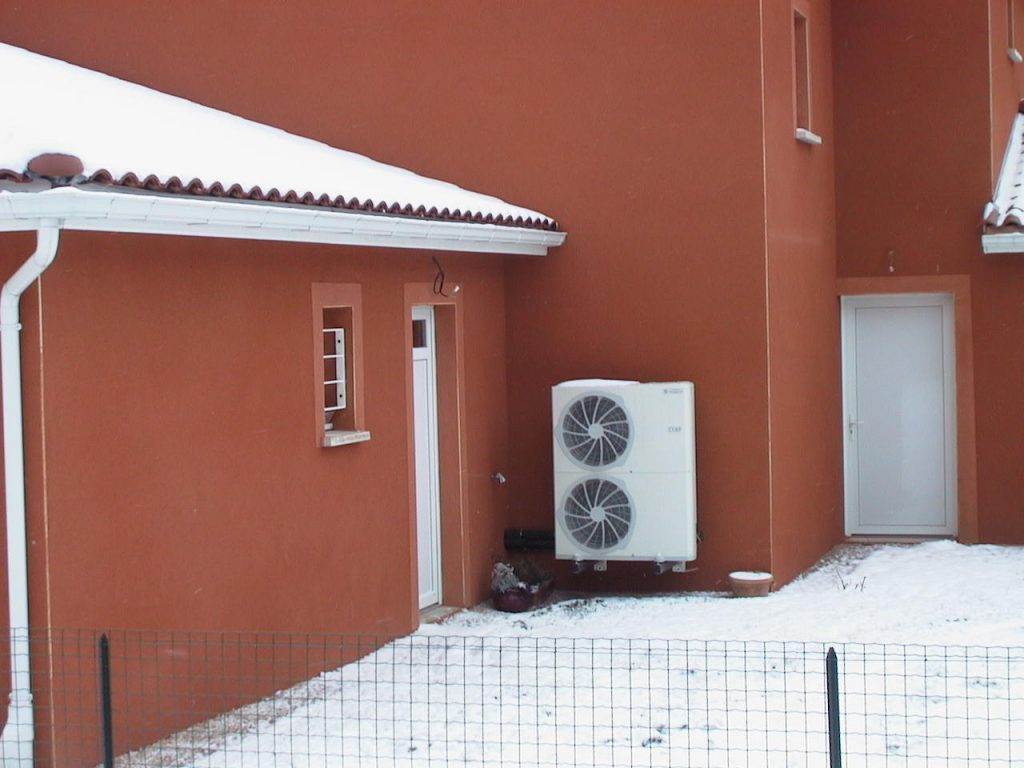 Travaux pour une installation de climatisation